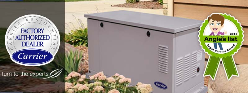 Cincinnati Home Standby Generators - Carrier | Zimmer HVAC